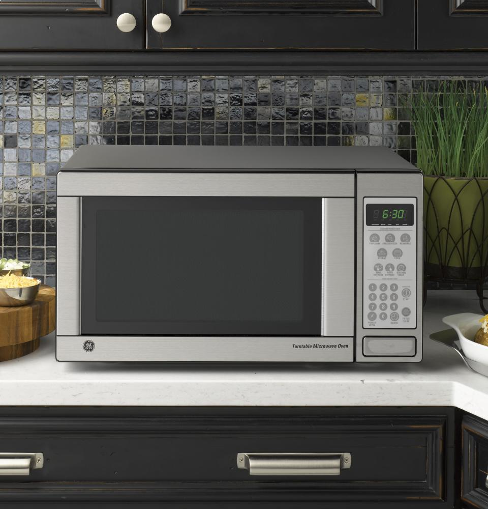 Countertop Microwave No Turntable : General Electric GE(R) 1.1 Cu. Ft. Capacity Countertop Microwave Oven