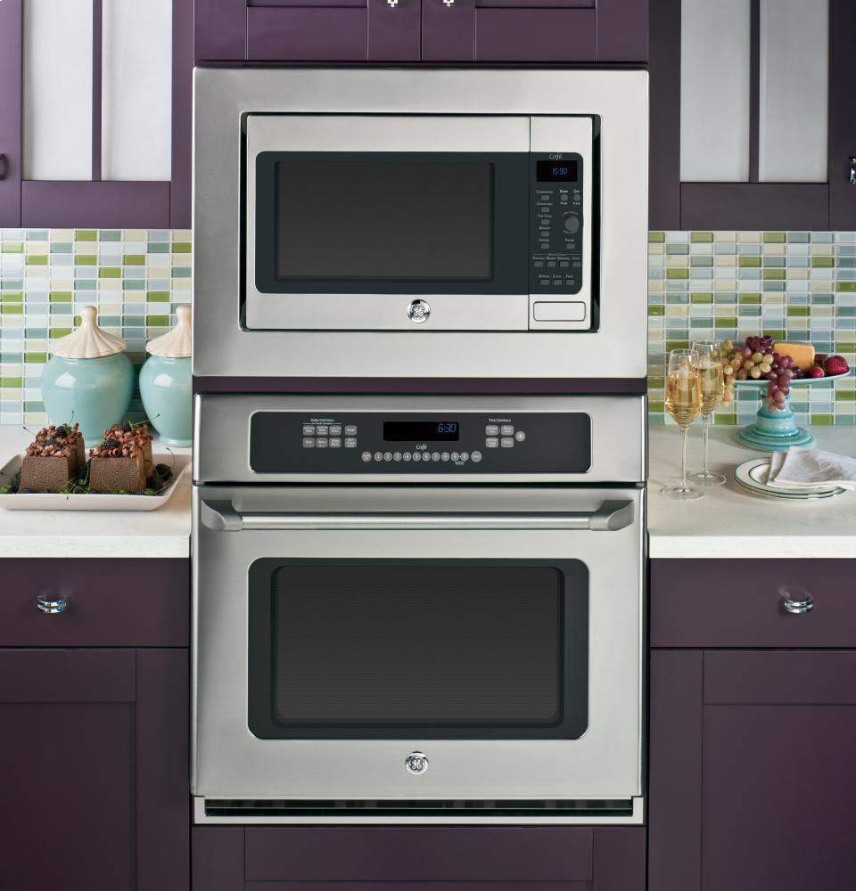 Countertop Convection Microwave With Trim Kit : ... GE Cafe GE Caf(eback) 1.5 Cu. Ft. Countertop Convection/Microwave Oven