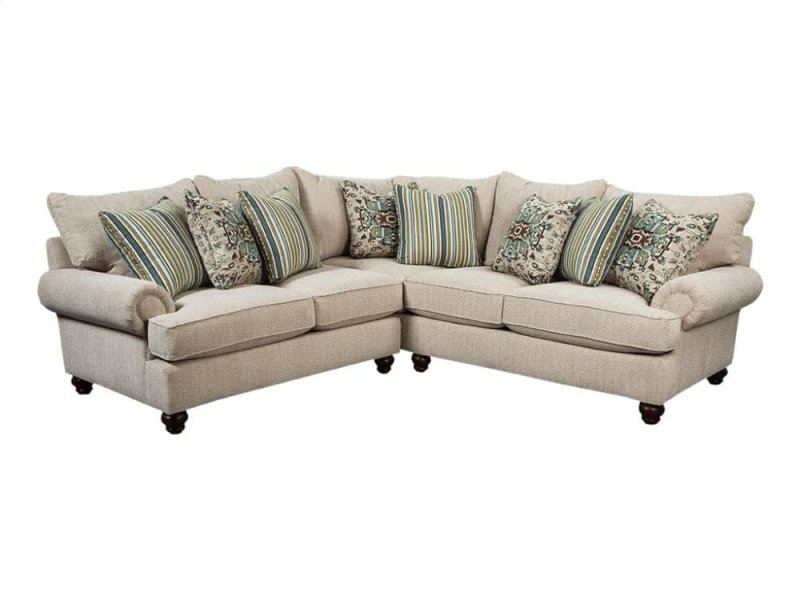 Craftmaster Living Room Stationary Sectionals - 7970SECT In By Craftmaster Furniture In LaFollette, TN