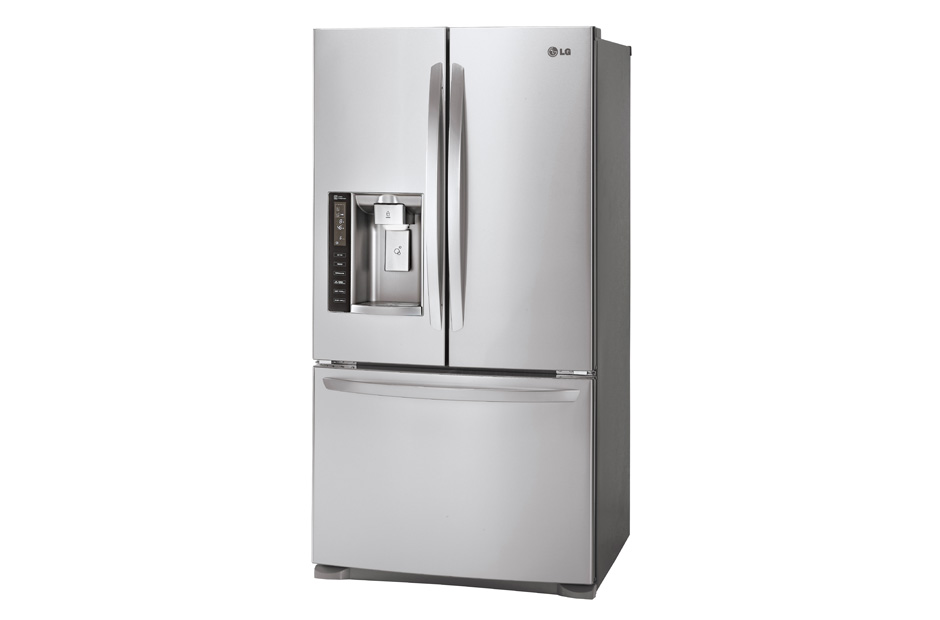 LFX21976STu0026nbspLG Appliancesu0026nbsp20 Cu. Ft. Large Capacity Counter Depth 3 Door  French Door