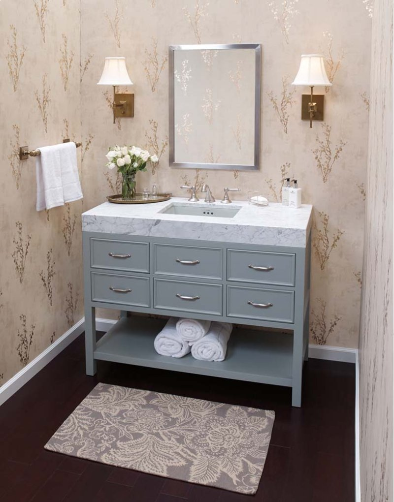 "Custom Bathroom Vanities Newcastle ronbow 052748f21 | studio41 | newcastle 48"" bathroom vanity"