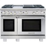 American Range�Convection Oven Technology Creates Even Heat Distribution �18� and 30� Convection Ovens with Infrared Gas Broiler �Optimal Visibility with Oven Lighting Controls �Commercial-Grade Cast Iron Grates