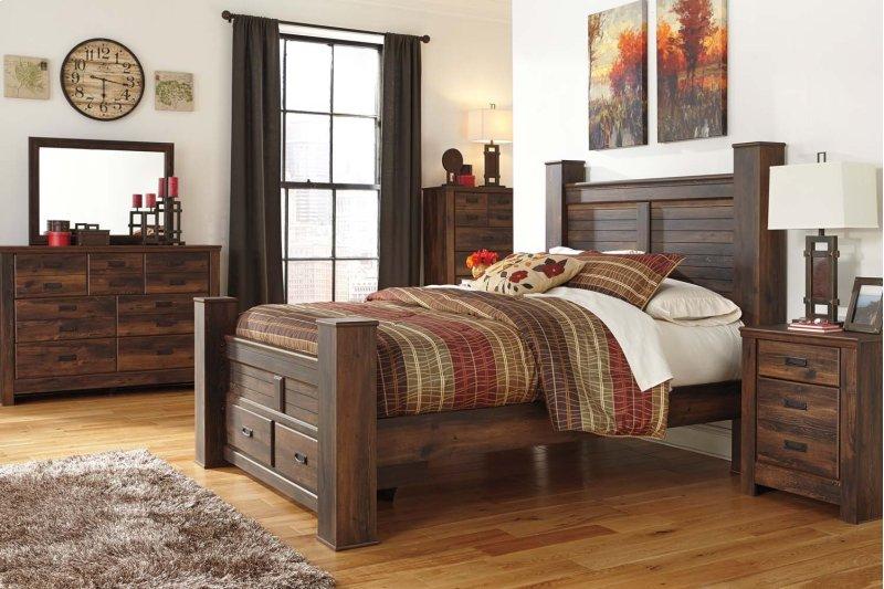 B246B1 in by Ashley Furniture in Silver City, NM - Quinden - Dark ...