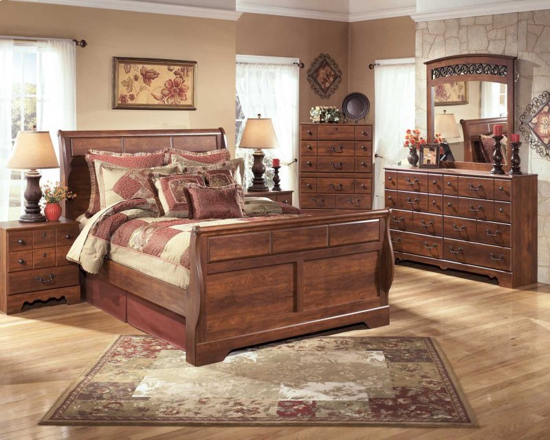 b25854 in by ashley furniture in san jose ca queen sleigh footboard