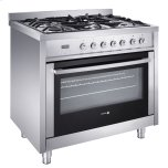 Fagor America Inc�Auto Shut-Off Setting �Stainless Steel Finish �Rotisserie Feature �5 Burners, 2 Convection Systems