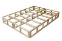 "9"" Common Spilt Queen Box - Wood Foundation"