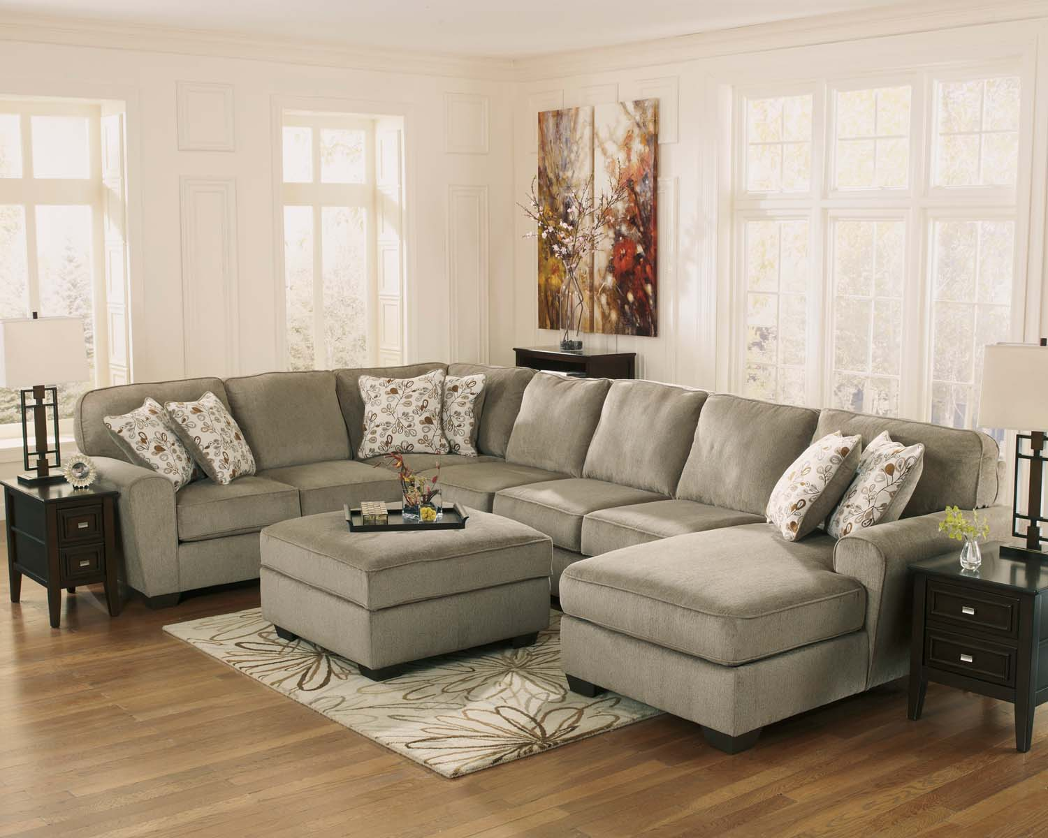 12900S2 in by Ashley Furniture in Sulphur, LA - Patola Park - Patina 2 Piece Sectional