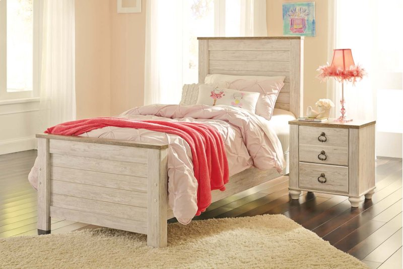 Willowton Bedroom Set Prepossessing Willowton Whitewash King Panel Set Inspiration Bedroom