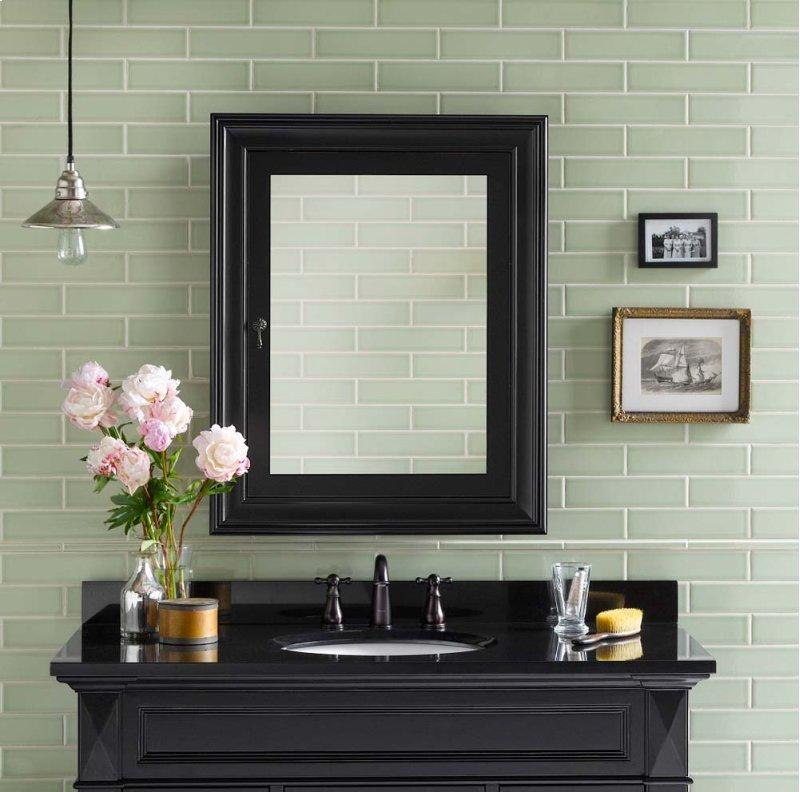 Framed Bathroom Mirrors Atlanta 611027b01ronbow in atlanta, ga - traditional solid wood framed