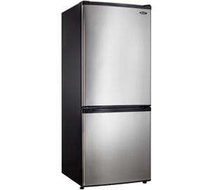 Danby 9.2 cu. ft. Apartment Size Refrigerator  Black with Stainless Steel Look