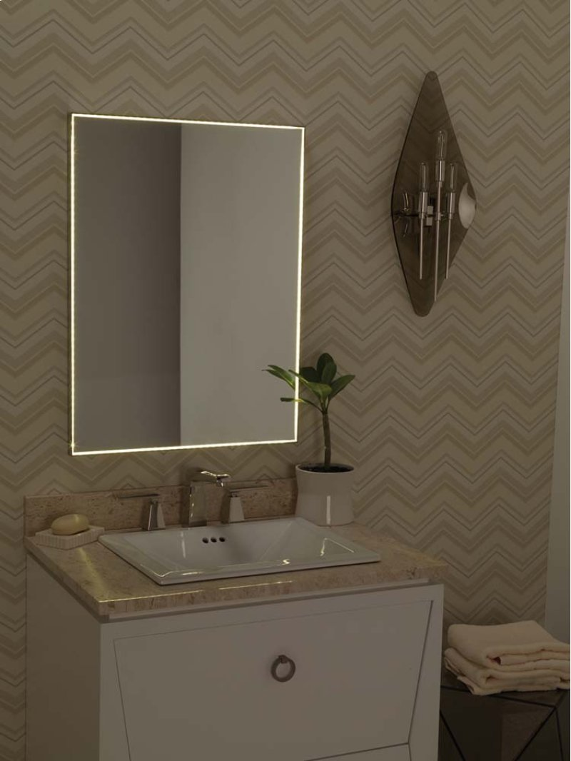 metal framed bathroom mirrors ~ dact