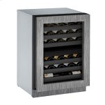 U-LineU-Line Modular 3000 Series 24&quot Wine Captain(r) Model With Integrated Frame Finish and Field Reversible Door Swing (115 Volts / 60 Hz)