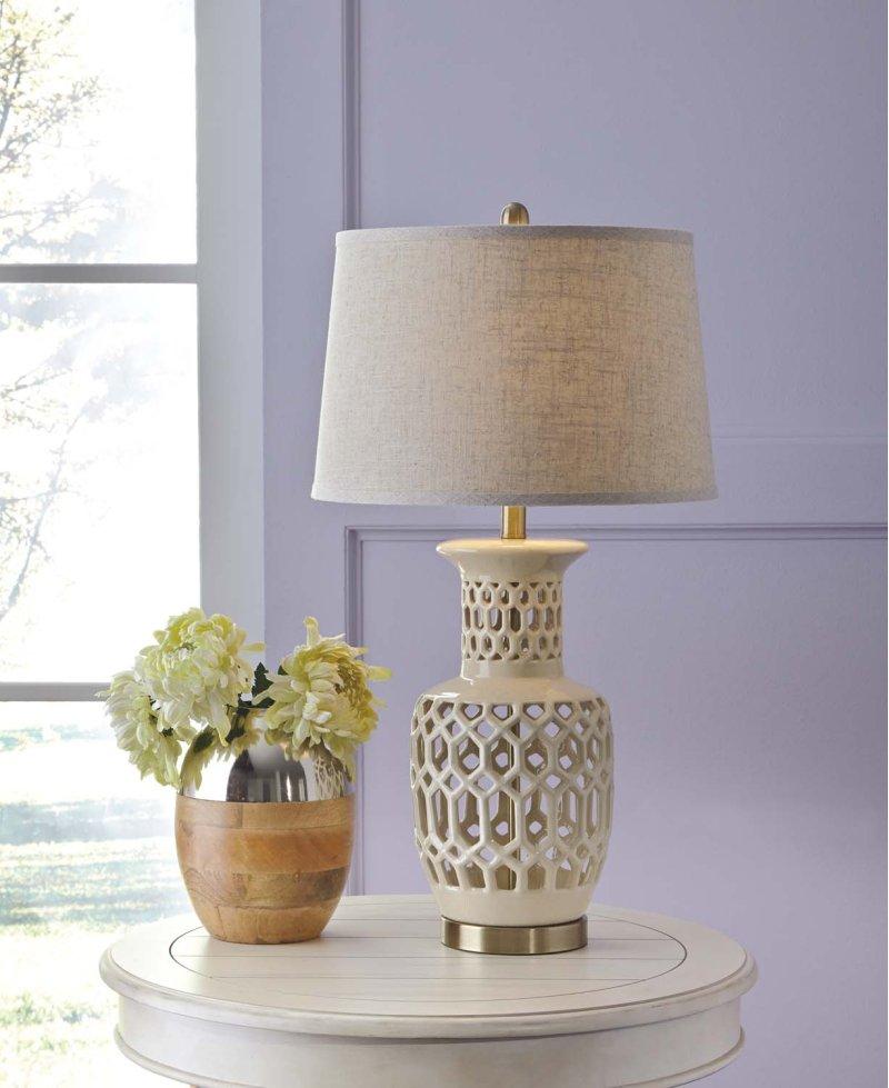 Ceramic table lamp 1 cn