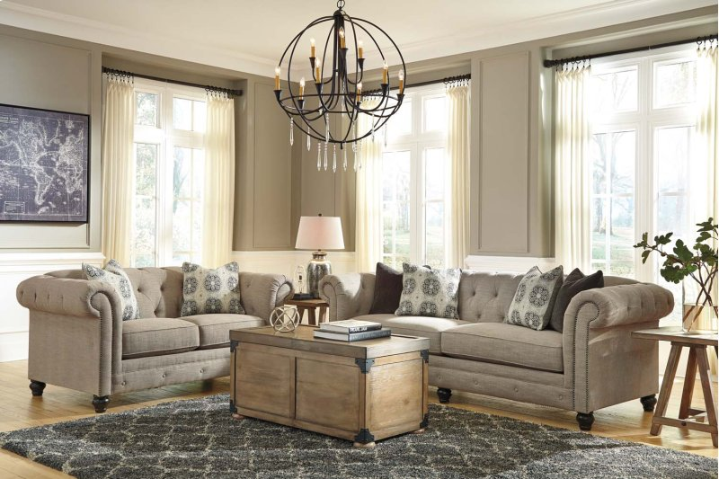 Azlyn Sepia Sofa #furniture