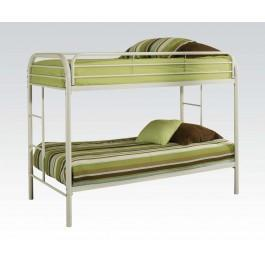 ACME FURNITURE INC 02188WH  BEDROOM FURNITURE on BEDS / HEADBOARDS / FOOTBOARDS / CANOPY FRAMES / RAILS