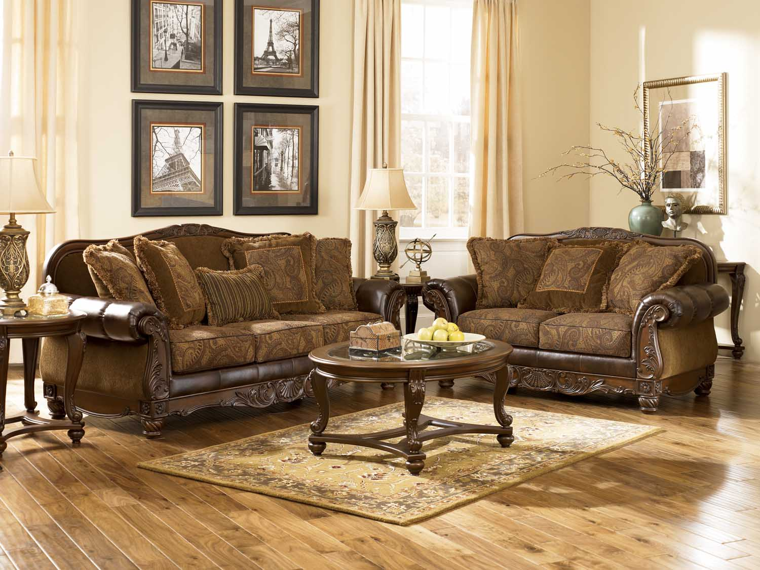 North Shore Living Room Set 63100 In By Ashley Furniture In Houston Tx Ashley 63100 Fresco