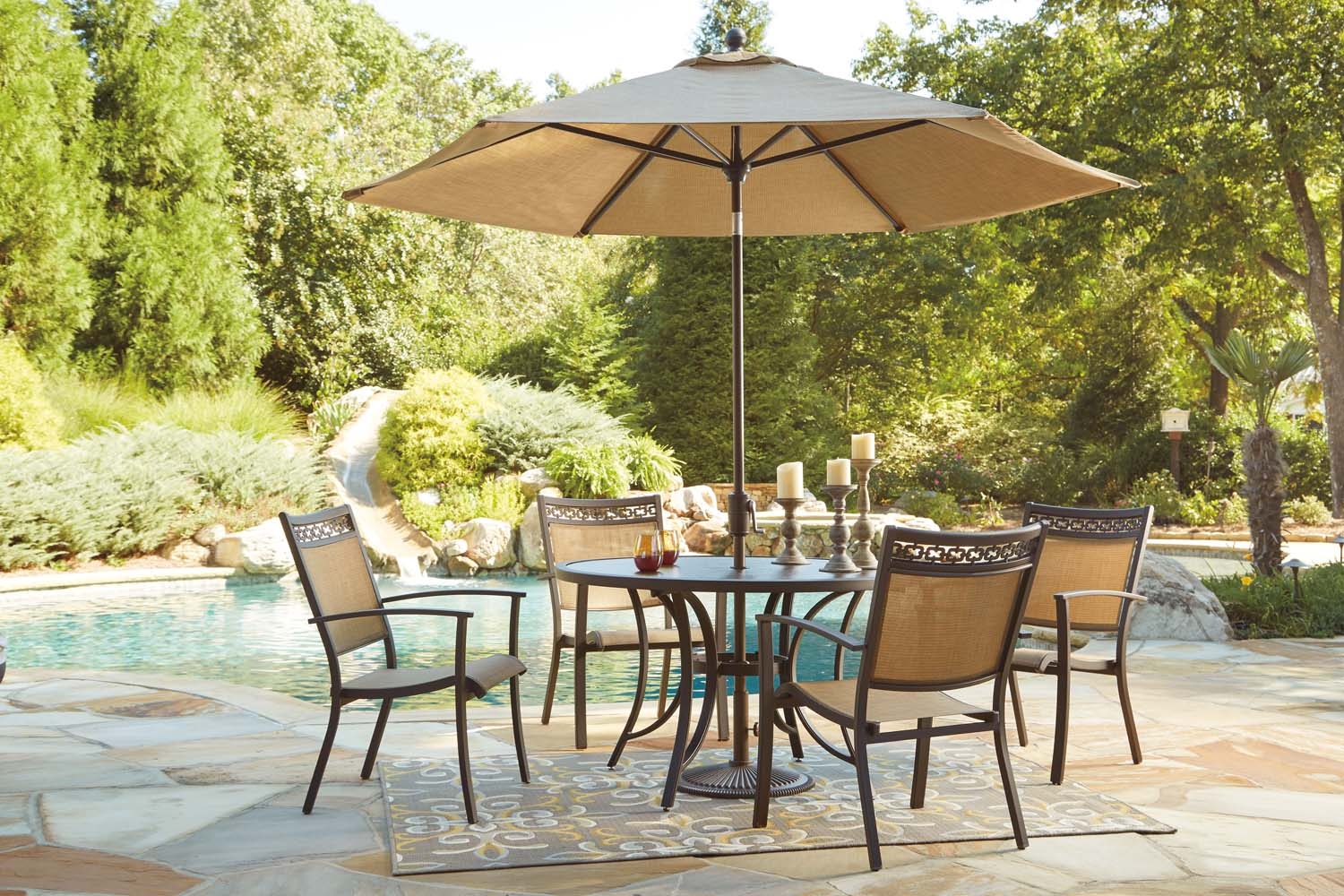 Carmadelia   Tan/Brown 2 Piece Patio Set · Additional Carmadelia    Tan/Brown 2 Piece Patio Set
