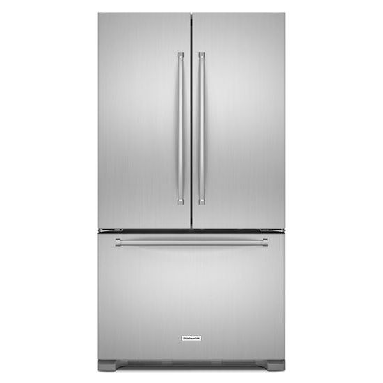 kitchenaid french door counter depth refrigerator KRFC302ESS