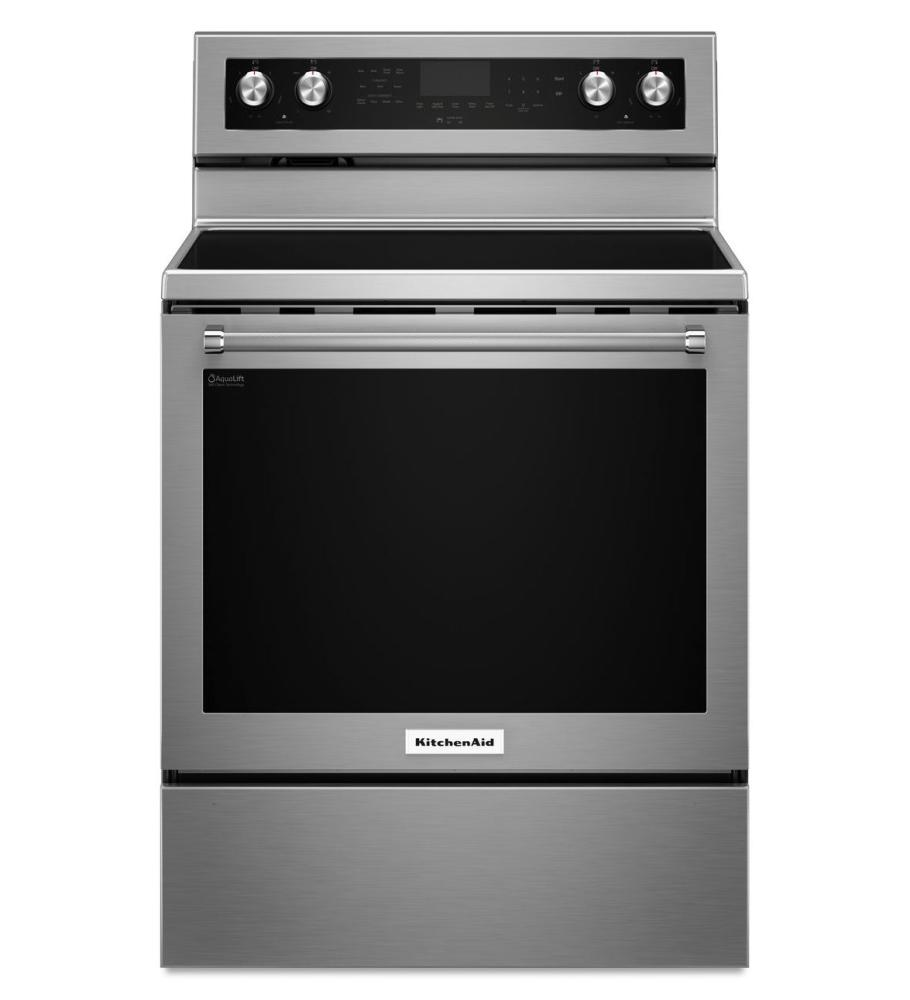 KitchenAid KFEG500ESS Affordable Convection Electric Ranges