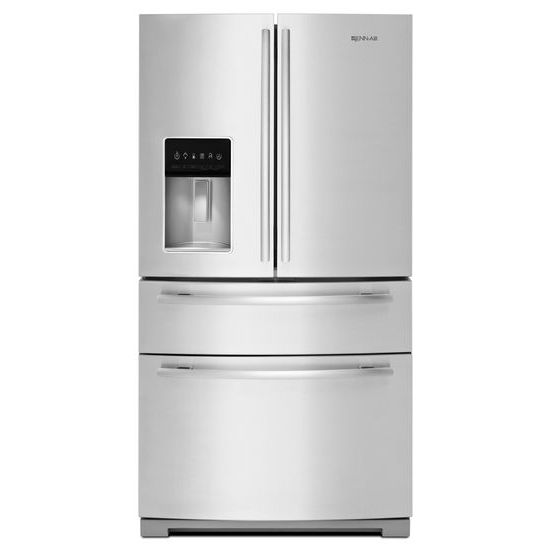 Jenn-Air JFX2897DRM best double drawer refrigerator