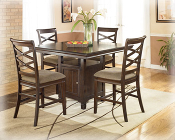 Buy dining room furniture - ASHLEY D48032 DINING ROOM FURNITURE TABLES