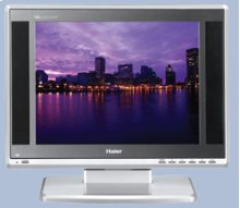 """15"""" Flat Panel LCD TV - Blackbelt Series"""