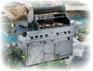 Outdoor Range™ Gas Grill and Cart with Gas Oven (grill and cart sold separately) Product Image
