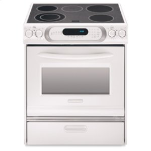 KitchenAid30-Inch Slide-In Electric Range