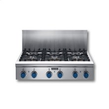 """36"""" COOKTOP WITH 6 STAR BURNERS"""