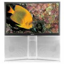 """55"""" Widescreen Rear Projection HDTV"""