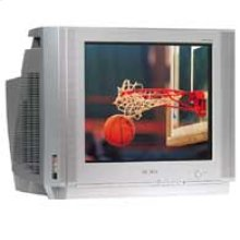 "20"" Deluxe Featured DynaFlat™ TV with DVD Component Input"