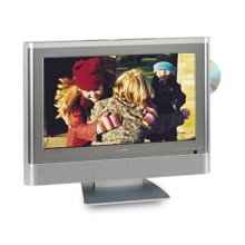 "20"" Diagonal LCD HD Monitor Television with Built-in DVD Player"