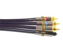 6ft Gold Component Video and Optical Cable from the Ultimate Performance Collection