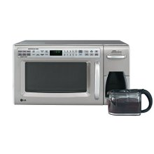 Combination Microwave and Coffee Maker