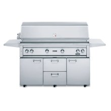 "54"" Free Standing Grill with 1 ProSear Burner and Rotisserie (L54PSFR-1)"