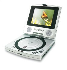 """5"""" TFT PORTABLE DVD PLAYER with SWIVEL SCREEN"""