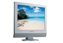 """17"""" LCD TV with PC/DVD/TV Inputs"""