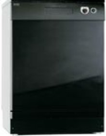 """24"""" Built-In Dishwasher with Front Controls ADA  - Black"""