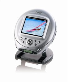 "3.5"" LCD SCREEN PORTABLE DVD/CD/MP3 PLAYER"