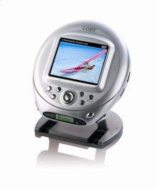 "3.5"" LCD SCREEN PORTABLE DVD/CD/MP3 PLAYER"
