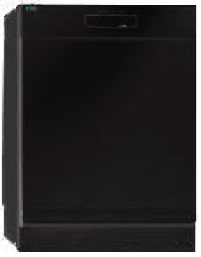 """24"""" Built-In Tall-Tank 6 Cycles, 8 Temperatures Dishwasher  - Black"""