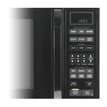 Black-on-Black 1.5 Cu. Ft. Whirlpool Gold® Sensor Microwave Oven