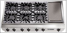 """48"""" Pro-Style® Triple Gas Cooktop"""