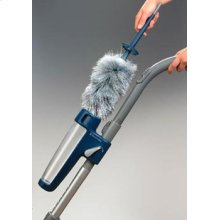 The Easy Clean Kit attaches to your vaccum for dusting convenience.