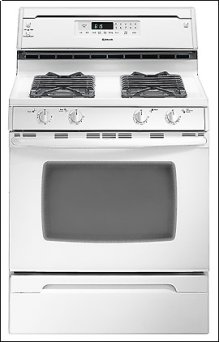 Self-Clean Gas Range w/ Convection Oven