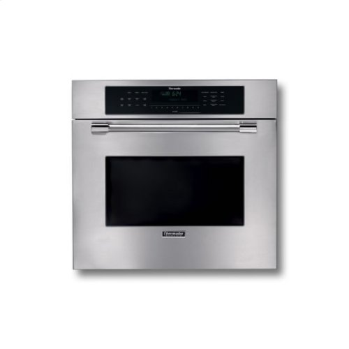 "30"" STAINLESS STEEL SINGLE CONVECTION OVEN W/ PROFESSIONAL SERIES HANDLE"