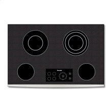 "30"" BLACK CERAMIC ELECTRIC FRONT FRAME COOKTOP"