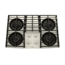 Whirlpool Gold® 30-Inch Gas Cooktop