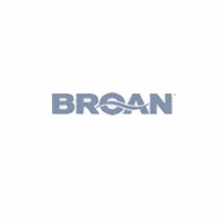 "Broan 9"" Hood, 440 CFM - 2 Speed, 30"", White on White with Antimicrobial Protection"