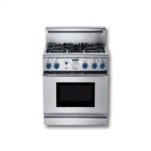 """30"""" ALL-GAS LP SELF-CLEANING RANGE WITH 4 STAR BURNERS"""